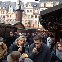 Photo taken at Mainzer Weihnachtsmarkt by Harald H. on 11/30/2013