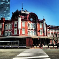Photo taken at Tokyo Station by Marina Z. on 4/22/2013