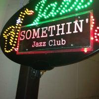 Photo taken at Somethin' Jazz Club by Imkeepingup T. on 3/21/2013