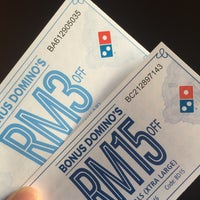 Photo taken at Domino's Pizza by Hazim H. on 5/26/2016