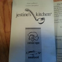 Photo taken at Jestine's Kitchen by Anthony H. on 4/10/2013