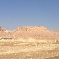 Photo taken at Masada by Monica B. on 7/1/2013