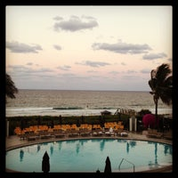 Photo taken at Boca Beach Club, A Waldorf Astoria Resort by Cianna S. on 5/15/2013