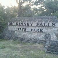 Photo taken at McKinney Falls State Park by Karri S. on 7/4/2013