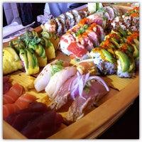 Photo taken at Fusion Sushi by dizberiq on 9/23/2012