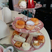 Photo taken at Adorabelle Tea Room by Andrew Y. on 3/16/2016