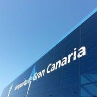 Photo taken at Aeropuerto de Gran Canaria (LPA) by Vince V. on 5/12/2013