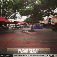 Photo taken at Pasar Segar by Antolesius T. on 6/12/2013