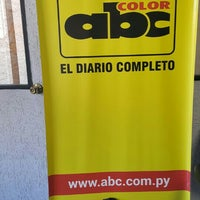 Photo taken at Diario ABC Color by Ana R. on 2/15/2016