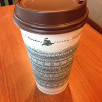 Photo taken at Caribou Coffee by Wendy on 11/30/2013