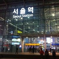 Photo taken at Seoul Station - KTX/Korail by 준영 황. on 1/19/2013