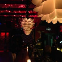 Photo taken at CosmoLava Lounge by Mariana W. on 12/29/2012