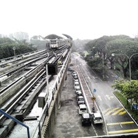 Photo taken at RapidKL Sentul Timur (ST11) LRT Station by Kochadaiiyaan on 4/30/2013