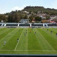 Photo taken at Estadio 10 de Diciembre by Jimena M. on 3/31/2013