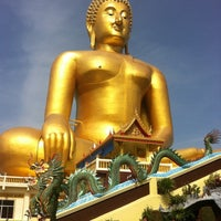 Photo taken at Wat Muang by Nat J. on 8/19/2012