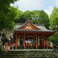 Photo taken at 豊玉姫神社 by hiro m. on 5/3/2016