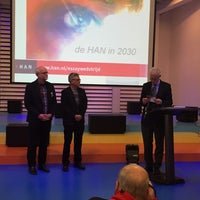 Photo taken at Hogeschool van Arnhem en Nijmegen (HAN) by Justine v. on 3/23/2015