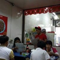 Photo taken at lan zhou la mien by Rey D. on 1/21/2014