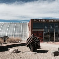 Photo taken at Taos Mesa Brewing by Brent B. on 3/16/2015