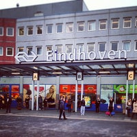Photo taken at Station Eindhoven by Anne Jan R. on 11/16/2012
