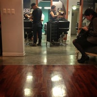 Photo taken at Hair Studio by Mariano C. on 4/24/2013