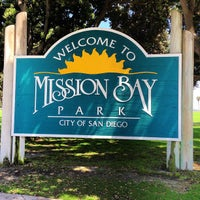 Photo taken at Mission Bay Park by Heather F. on 8/4/2013