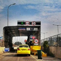 Photo taken at Jalan Tol Lingkar Luar Jakarta Seksi W1 (JORR W1) by Dimas W. on 3/12/2013