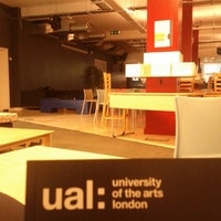 Photo taken at University of the Arts London (UAL) by Marta A. on 12/10/2012