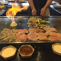 Photo taken at Mt. Fuji Steak & Sushi Bar by Çağla G. on 7/16/2015
