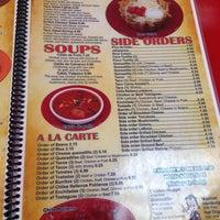 Dos Primos Mexican Restaurant Menu
