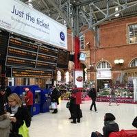 Photo taken at London Marylebone Railway Station (MYB) by Frank D. on 3/4/2013