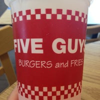 Photo taken at Five Guys by Frank D. on 6/13/2014