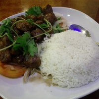 Photo taken at Pho & Cafe Anh Hong by Randy D. on 10/3/2012