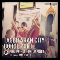 Photo taken at Tagbilaran City Bohol Port by lemorky on 5/8/2013