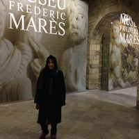 Photo taken at Museu Frederic Marès by Yiannis G. on 2/22/2013