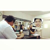Photo taken at University of Visayas - GCM Library by Kyle J. on 9/10/2013