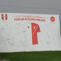 Photo taken at Federación Peruana de Futbol by Franco R. on 8/3/2016