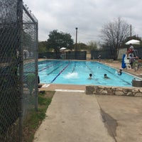 Photo taken at Big Stacy Pool by Austin S. on 3/22/2014