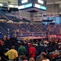 Photo taken at Crown Coliseum by Marcus H. on 6/9/2013