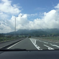 Photo taken at メルヘン大橋 by 54 on 7/20/2014