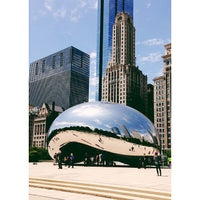 Photo taken at Cloud Gate by Pam ☕️ O. on 6/5/2013