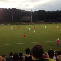 Photo taken at The Seminole Soccer Complex by Danielle B. on 9/8/2014