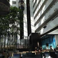 Photo taken at Atrium by Julian S. on 10/20/2012
