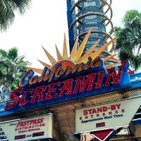 Photo taken at California Screamin' by Mike Q. on 6/6/2013