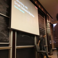 Photo taken at NYU Courant Institute of Mathematical Sciences by Aditya M. on 11/13/2012