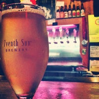 Photo taken at 7venth Sun Brewery by Geneva A. on 3/21/2013