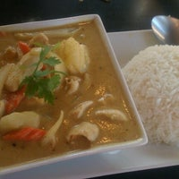 Photo taken at Rice and Spice Thai Cuisine by Alex G. on 9/26/2012