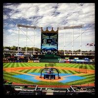 Photo taken at Kauffman Stadium by Bob N. on 6/11/2013