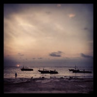 Photo taken at Pantai Panjang (Long Beach) by Ando F. on 3/17/2013