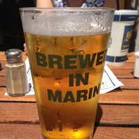 Photo taken at Marin Brewing Company by brian k. on 7/6/2013